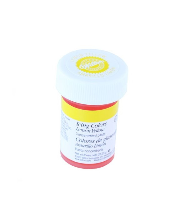 Colorant alimentaire en gel Jaune Citron wilton