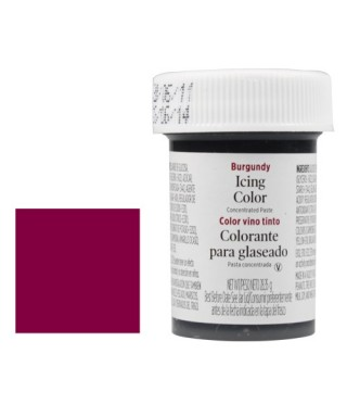 Colorant alimentaire en gel Bordeaux Wilton