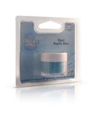 Soie alimentaire Perle Bleu Pacifique Rainbow Dust