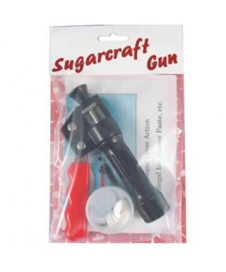 Pistolet Sugarcraft Craft gun Extrudeur plus 16 disques