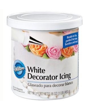 Glaçage décoratif Blanc 450g Wilton