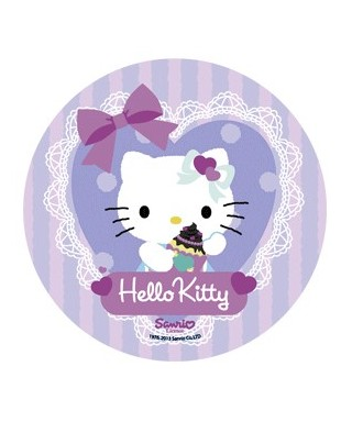 Disque sucre Hello Kitty -3