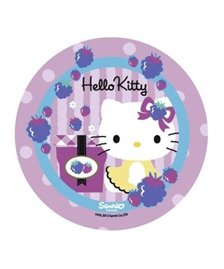 Disque Azyme Hello Kitty et son cadeau