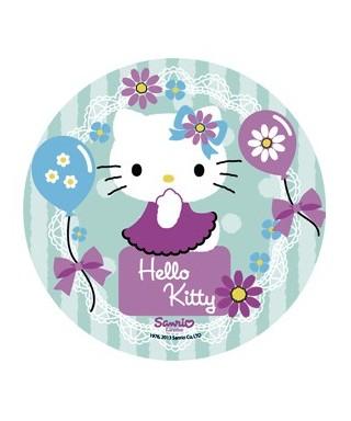 Disque Azyme Hello Kitty et ses ballons