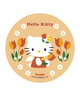 Disque Azyme Hello Kitty et ses tulipes