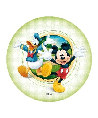 Mini Disque Azyme Mickey et Donald - 1