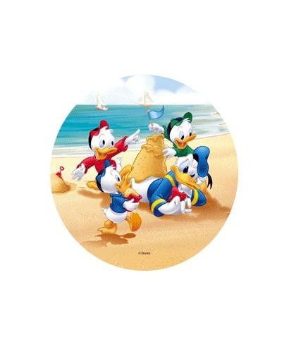 Disque Azyme Mickey et ses amis à la plage-2