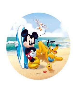 Disque Azyme Mickey et ses amis à la plage-4