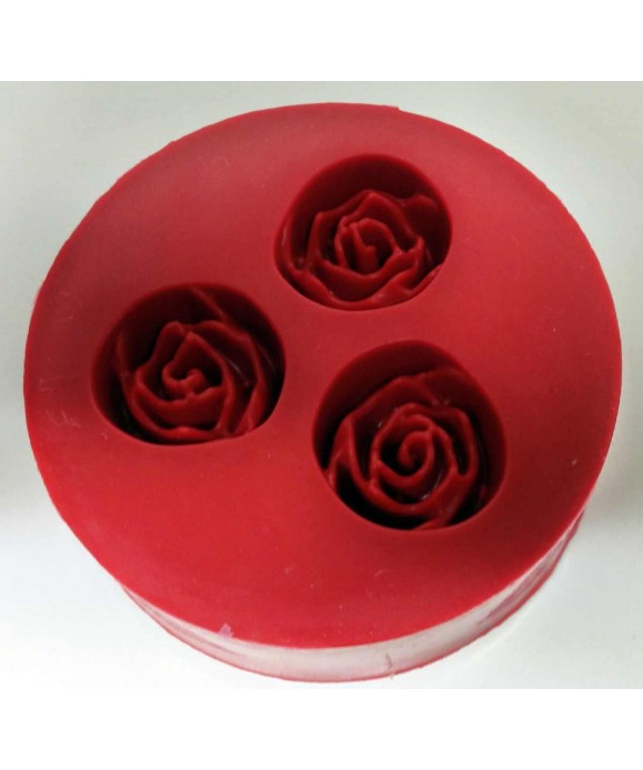 Moule Silicone trois rose