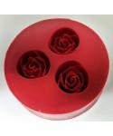 Moule Silicone trois rose
