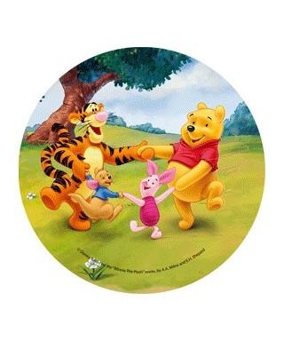 Disque pâte à Sucre Winnie et ses amis-4