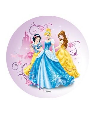 Disque pâte à Sucre Princesses Disney