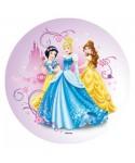 Disque pâte à sucre Blanche-Neige, Aurore et Belle Disney