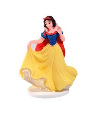 Figurine en sucre Blanche Neige 3D et son décor Disney