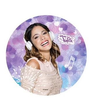 Disque pâte à Sucre Violetta Disney