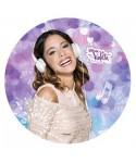 Disque pâte à Sucre Violetta et son casque Disney