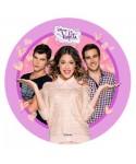 Disque pâte à Sucre Violetta et ses copains Disney