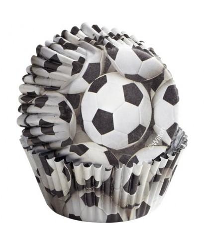 Caissettes Cupcake ColorCups Football set/36 Wilton