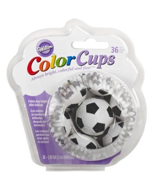 Caissettes Cupcake ColorCups Football set/36 Wilton