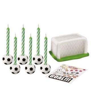 Bougie Pack football set/8 Wilton