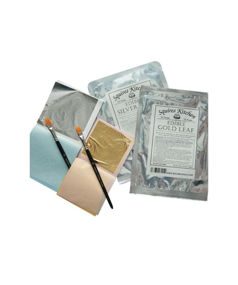 feuille d 39 argent carnet de 10 feuilles squires kitchen pour paillet. Black Bedroom Furniture Sets. Home Design Ideas