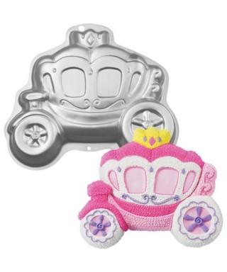 Moule carosse de princesse 3D Wilton