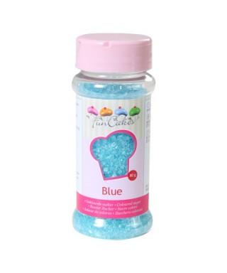 Sucre coloré Bleu 80g FunCakes