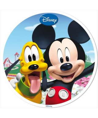 Disque Azyme Mickey et Pluto Disney