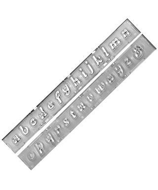 Clikstix Lettres Minuscules font Windsor Craft