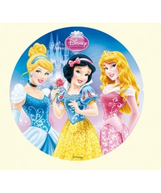 Disque Azyme princesse - 4 Disney