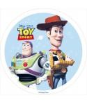 Disque azyme Buzz l'éclair et Woodie Toy Story Disney