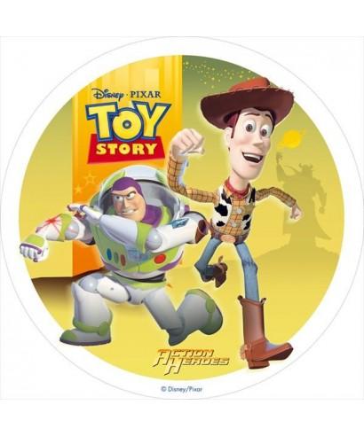 Disque Azyme Toy Story  Woody et Buzz l'Éclair - 3 - Disney