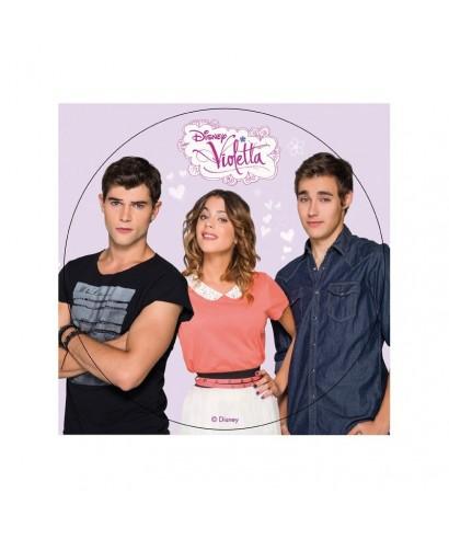 Disque Azyme Violetta et ses amis Disney