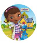 Disque Azyme Dottie et Toufy Docteur la Peluche Disney