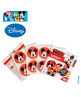Mini Disque Azyme à cupcakes Mickey Disney