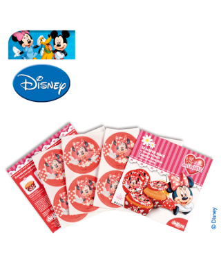 Mini Disque Azyme à cupcakes Minnie Disney