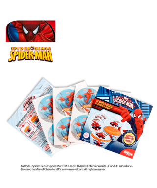 Mini Disque Azyme à cupcakes Spiderman Marvel