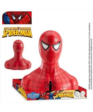 Spiderman tirelire avec bonbon 19cm Marvel