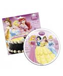 Disque pâte à sucre quatre Princesses Disney