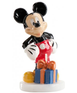 Bougie Mickey 8 cm Disney