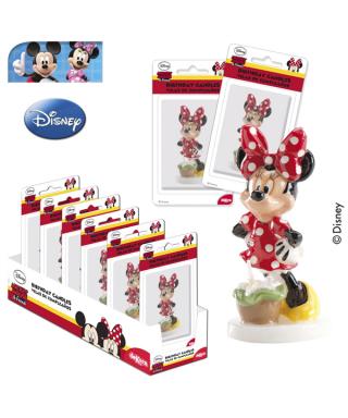 Bougie Minnie 8 cm Disney