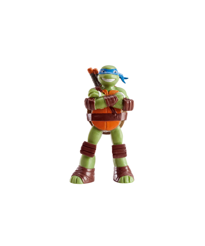 Figurine pvc 3d leonardo tortues ninja - Coloriage tortue ninja leonardo ...