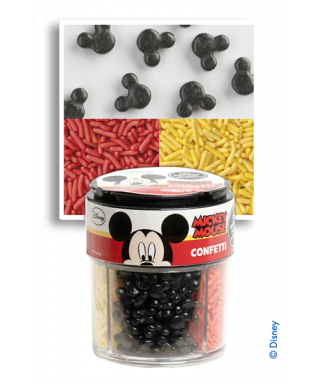Assortiment confettis en sucre Mickey Disney