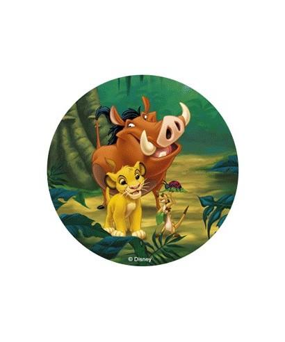 Disque pâte à Sucre Le Roi Lion -1