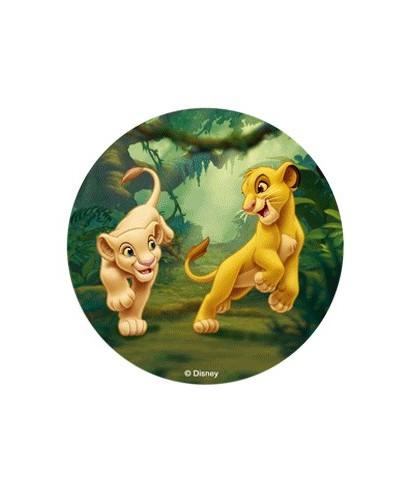 Disque pâte à Sucre Le Roi Lion - 2