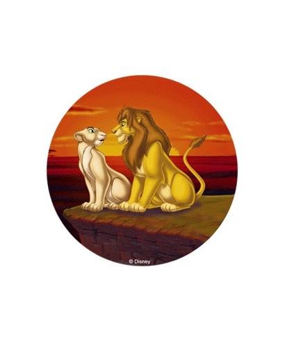Disque pâte à Sucre Le Roi Lion - 3