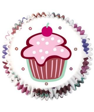 Caissettes Cupcake Be My Cupcake set/75 Wilton