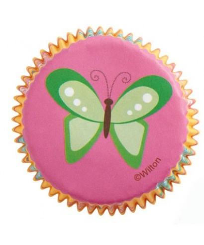 Caissettes Cupcake Modern Garden Party set/75 Wilton