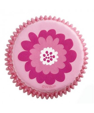 Caissettes Cupcake Pink Party set/75 Wilton