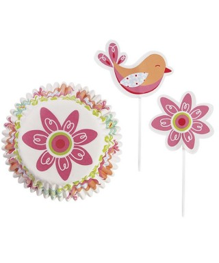 Caissettes Cupcake Combo Pack Spring pk/24 Wilton